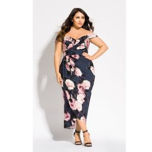City Chic Sweet Love Maxi Dress 14
